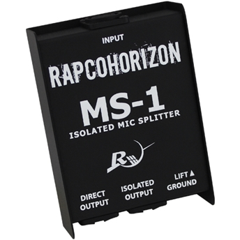 MS-1 Mic Splitter - RapcoHorizon